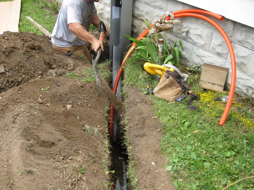 underground cable wiring Hampton Park