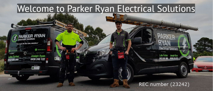 Parker Ryan Electrical Solutions Banner